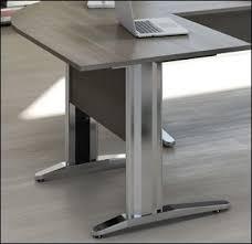 pietement bureau meubles de bureau meuble design pied métal et bureau prix budget