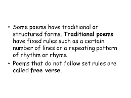 literature unit 5 poetry ppt
