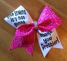 bella bows cheer bows cheerbow cheerleader pink cheer bow
