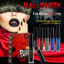 Halloween Lip Makeup Online Get Cheap Halloween Makeup Kit Aliexpress Com Alibaba Group