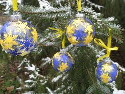 university of michigan wolverines christmas tree ornaments