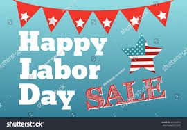 happy labor day card united states stock vector 439500073