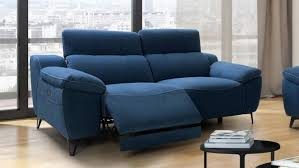 canapé relax tissus 3 places canapé de relaxation électrique design 3 places faro gdegdesign
