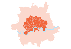 London Zip Code Map by Courier Return Service In London Free Packet Collection