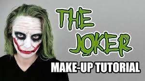 Heath Ledger Halloween Costume Joker Tutorial Based Heath Ledger