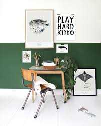 Childrens Bedroom Wall Paint Green In Kids Rooms Kids Rooms Half Walls And Room