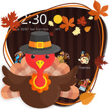happy thanksgiving theme android apps on play