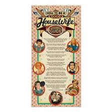 retro housewife posters zazzle