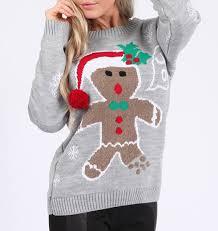 gingerbread man ugly christmas sweater ugly christmas