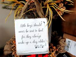 Little Boys Should Never Be Sent To Bed Vintage Farmhouse