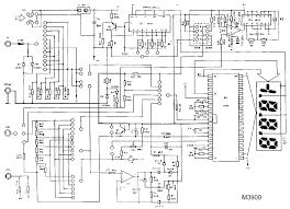 digital ammeter circuit using ic l7107 expert circuits wiring