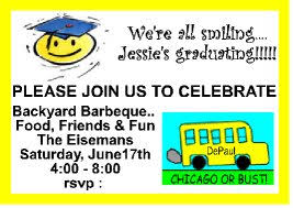 graduation party invitations graduation party invitations you can make yourself