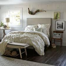 Upholstered Nailhead Headboard tall upholstered nailhead bed stone west elm
