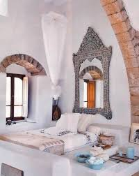 bedroom moroccan style bedroom furniture and curtain with wall