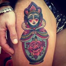 26 best russian nesting doll tattoo images on pinterest cherries