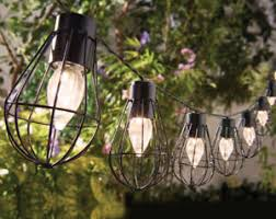 Marine Solar Lights - charming rustic string of 10 marine solar lights ebay