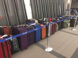 united airlines media baggage delayed luggage issues continue for united airlines passengers at