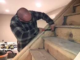 Sanding Banister Spindles How To Sand Remove Paint Off A Staircase Youtube