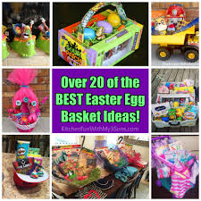 20 of the best easter basket ideas kitchen fun with my 3 sons