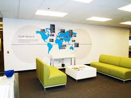 Map Room Chicago Il by Client Spotlight Wall Graphics For Xchanging Alphagraphics