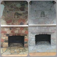fireplace stone ugly stone fireplace makeover hometalk