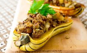 delicata squash with thanksgiving recipes noshon it