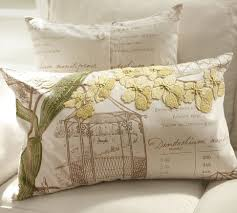 Pottery Barn Lumbar Pillow Covers Yellow Orchid Embroidered Lumbar Pillow Cover Pottery Barn
