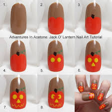 step by step halloween nail art choice image nail art designs