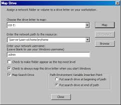 use map drive mapping drives oes 2015 sp1 file systems management guide