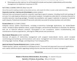 Executive Resume Example Corporate Resume Template