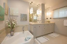 Bathroom Hanging Lights Awesome The Difference Between Paired And Single Bathroom Pendant