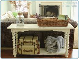 Decorating A Sofa Table Behind A Couch Kitchen Decoratingdining Room Chair Covers Driftwood Sofa Table