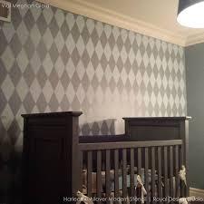 Home Decorating Ideas Painting 266 Best Nursery U0026 Kid U0027s Room Stencils Images On Pinterest Wall