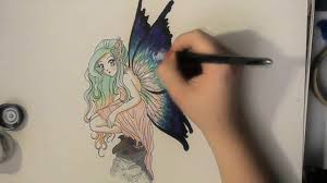 drawing a fairy requested promarkers slow no tutorial