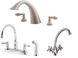 types of faucets kitchen types of faucets kitchen types of kitchen faucets satin nickel