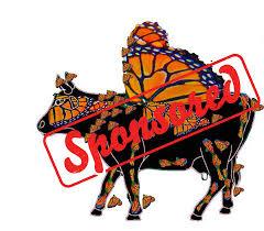 24 moo monarch cow parade san luis obispo county