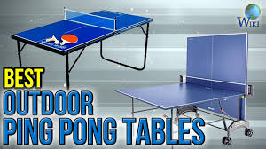 sporting goods ping pong table 8 best outdoor ping pong tables 2017 youtube