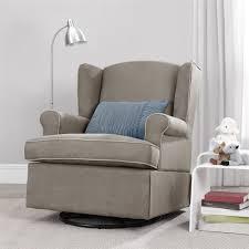Nursery Chair Slipcovers Baby Nursery Nursery Glider Rocking Chairs Grey Fabric Nursery