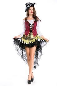 Halloween Pirate Costumes Black Showgirl Halloween Pirate Costume Pink Queen