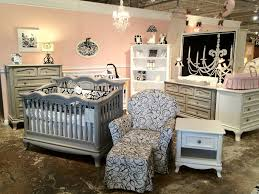 Young America Convertible Crib by Cleopatra And Antonio Display In Front Showroom Crib Nursery