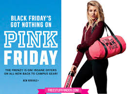 victoria secret on black friday free duffle u0026 water bottle with 65 pink purchase at victoria u0027s secret