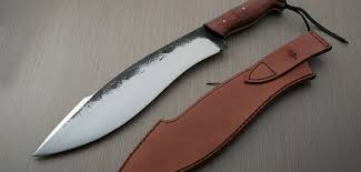 Hand Forged Kitchen Knives Hand Forged Camp Knife Almogovar Citadel Knives And Swords