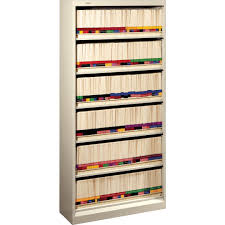 Hon 310 Series Vertical File Cabinet by Hon Brigade Open File Cabinet Letter 6 Shelf Putty 13 1 4
