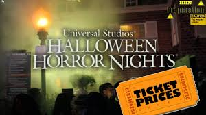 halloween horror nights frequent fear pass all tickets for halloween horror nights 2017 youtube