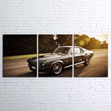 modern home canvas wall art decor frame pictures 3 pieces ford