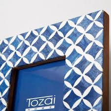 Tozai Home Decor Blue And White Moderne 4