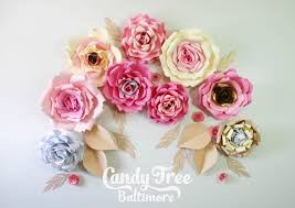 Paper Rose Topiary - diy paper rose backdrop tutorial lesson no1 youtube