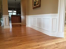 Wainscoting Kitchen Cabinets Wainscoting Chair Rail U0026 Shadow Boxes Crown Molding Nj Llc