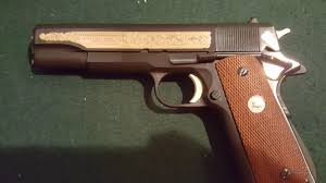 colt 1911 custom shop series 70 usmc commemorat for sale
