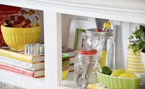 kitchen accent cabinet tutorial and party the avenue decorated with items that belong the kitchen